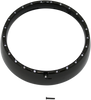 "Custom Dynamics 7"" LED Halo Headlight Trim Ring w/ Built-In Turn Signals for '96-05 FLHT/FLHX -Black"