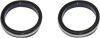 Custom Dynamics Turn Signals w/ Daytime Running Lights -Gloss Black, 39mm