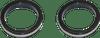 Custom Dynamics Turn Signals Daytime Running Lights -Gloss Black 43mm