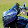 Klock Werks Flare Windshields for '14-Up Indian Chieftain and Roadmaster - Select Height and Tint