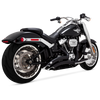 Vance & Hines Big Radius for 2018-Up FXDR 114, Fat Boy & Breakout Softail Models - Black