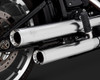 Vance & Hines Eliminator 300 Slip On Mufflers for '18-Up Harley Davidson Softail Models - Satin Chrome