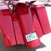 Paul Yaffe Bagger Nation Super Bright LEDs Kit (Select Amber or Red) Sold In Pairs