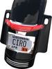 Ciro Latitude Tail Light & License Plate Holder for '10-13 Harley Davidson Touring FLHX, FLTRX - Chrome