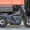 S&S Cycle Grand National 2-into-2 49 State Exhaust System for '18-Up Harley Davidson Softail Fat Bob Models - Black
