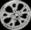Coastal Moto Precision Cast Largo 3D Front Wheels for '00-07 Harley-Davidson FLHX, FLTRX, FLHR