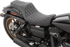 Drag Specialties Predator III Seat for 06-17 Harley Davidson Dyna and Dyna Wide Glide