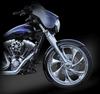 RC Components Custom Phantom Cut Fender Kits for Harley-Davidson Touring Models 23 inch fender