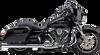 Cobra El Diablo 2 into 1 Exhaust for '17-Up Harley Davidson Touring Models