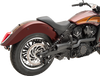 Trask 2-into-1 Hot Rod Exhaust System for '15-Up Indian Scout, Scout Sixty, '18-Up Scout Bobber