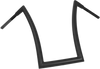 Todd's Cycle 1.5 inch Strip Handlebars (20 inch) Chrome, Black or Flat Black