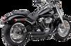 Cobra Speedster Slashdown Exhaust for '18-Up Harley Davidson Breakout 114, Fat Boy 114 and Sport Glide - Black