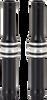Arlen Ness Deep Cut Pushrod Tube Kits - black