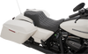 Drag Specialties Predator III Seats for '08-Up Harley Davidson Touring Models - Smooth or Diamond Cut (Black, Silver, or Red Stitching)