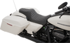 Drag Specialties Predator III Seats for '99-07 Harley Davidson Touring Models - Smooth or Diamond Cut (Black, Silver, or Red Stitching)