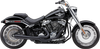 Cobra El Diablo 2-into-1 Exhaust for '18-Up Harley Davidson Softail Fatboy and Breakout (Chrome or Black)