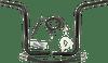 Fatbaggers 1 1 4 inch EZ Install Round Bar Handlebar Kits