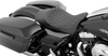 Drag Specialties Low Profile Solo Seats with Forward Positioning for '97-Up Harley-Davidson Touring
