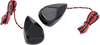 Alloy Art LED Turn Signals for '98-Up Harley Davidson FLTR, FLTRX and 06-Up FLHX (Select Chrome, Black or Raw)