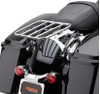 Cobra Detachable Luggage Rack for '09-Up Harley-Davidson Touring Models (Choose Chrome or Black)