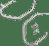 Drag Specialties Low Profile Saddlebag Guards for 99-13 Harley Davidson FLHT FLHR