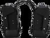 Burly Brand Throwover Saddlebags -  Black
