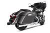 Rinehart Racing Slimline Dual Header Kit for '14-Up Indian Touring Models (Choose Chrome or Black)