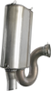 Bassani Xhaust Performance Stainless Steel Exhaust for '15-16 Polaris Slingshot