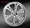 RC Components Gunner Chrome Wheel for Harley Davidson Models (Choose Options)