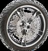 Arlen Ness Jagged Brake Rotors for '14-Up Harley Davidson FLT Touring - Front 11.8″ SOLD EACH