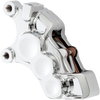 Arlen Ness Six Piston Differential Bore Brake Calipers for '08-Up Harley Davidson Touring, '18-Up Softail, '06-17 Dyna, '14-Up XL (Select Chrome or Black) for 11.8-in Rotors