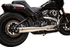S&S Cycle SuperStreet 2-into-1 50 State Legal Exhaust System for '18-Up Harley Davidson M8 Softail (Chrome or Black)