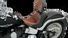 Saddlemen Lariat Solo Seat with Optional Pillion and Backrest for '08-Up Harley Davidson Touring Models