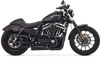 Vance & Hines Complete Stage 1 Competition Series 2 into 1 Power Package for '14-Up Harley Davidson Sportster Models - Black Ceramic Powder Coat