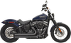 Bassani Pro Street Exhaust System for '18-Up Street Bob FXBB (Choose Chrome or Black)
