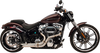 SuperTrapp Bootlegger Stainless Steel 2:1 Exhaust System for '18-Up Harley Davidson Softail