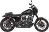 Bassani Sweeper Radius Exhaust for '14-up Sportster 1200 Models Chrome or Black