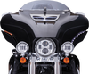 Ciro Bat Blades for '14-Up Harley Davidson Touring with OEM Batwing Fairing