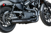 S&S Cycle SuperStreet 2-1 50 State Exhaust System for '14-20 Harley-Davidson Sportster Models