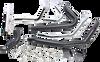 Cobra Power Port Dual Bung Headpipes for '09-16 Harley Davidson Touring Models Black