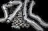 Cobra True Dual Head Pipes for 17-Up Harley Davidson Touring Chrome or Black