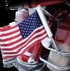 Ciro LED Lighted Flag Pole with American Flag