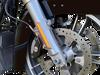 Custom Dynamics Amber LED Front Fork Lightz for '14-Up Harley Davidson Touring and Trike