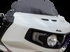Klock Werks 8 inch Flair Windshield for '20 Indian Challenger - Dark Smoke