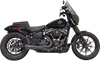Bassani Ripper Road Rage 2 into 1 Exhaust System for '18-Up Harley Davidson Softail Models (Click for fitment)
