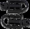 Biltwell Mushman Passenger Footpegs for Harley Davidson M-Eight Softail and ELW Models