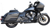 Bassani True Dual Performance Exhaust for '20-Up Indian Challenger (Choose Finish)