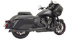 Bassani Road Rage 2 into 1 Exhaust for '20-Up Indian Challenger (Choose Finish)