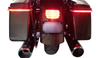 Custom Dynamics ProBeam Low Profile LED Taillight with Bottom Window for Harley Davidson Red