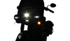 Custom Dynamics ProBEAM Dynamic Ringz LED Front Turn Signals for '15-21 Indian Touring - Chrome